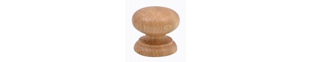 Poignées et boutons en bois et en céramique - Poignées et boutons de cuisine